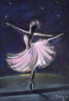 Dance to the Music of Time - pastel by ©Johanna Bohoy (via DailyPainters) for our Sydney Pictures To Paint, Art Pictures, Photos, Ballet Art, Ballet Dancers, Ballerina Painting, Ballerina Art, Dance Paintings, Pastel Art