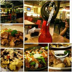 #vapor #dinner#sanmig #light #beer #nachos #beef#salpicao#pork#sisig #yummy#food#philippines#フィリピン #ディナー