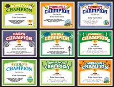 Basketball certificate templates awards basketball trophies and champion certificates for ping pong darts pool cornhole bocce yadclub Choice Image