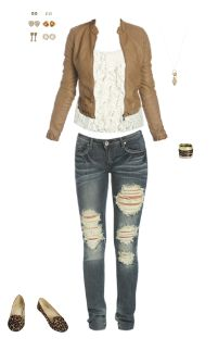 WetSeal.com Runway Outfit:  Best Casual by Lavaciette. Outfit Price $108.73