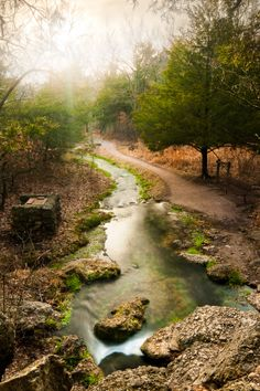 Chickasaw National Recreation Area in Oklahoma; photo by .Jason Wallace on Great Places, Places To See, Turner Falls, 1 Day Trip, Tulsa Oklahoma, Ohio, Trail Of Tears, Nature Water, Natural Scenery