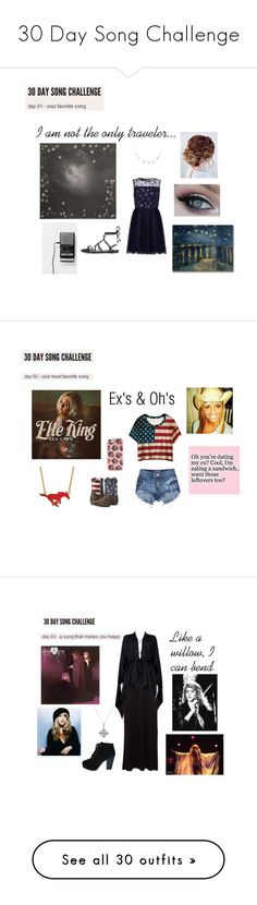 """30 Day Song Challenge"" by ballerinahippie on Polyvore featuring Alexander McQueen, Yumi, Rebecca Minkoff, Trademark Fine Art, WithChic, Roper, LogoArt, Forever 21, Cosabella and Tom Ford"