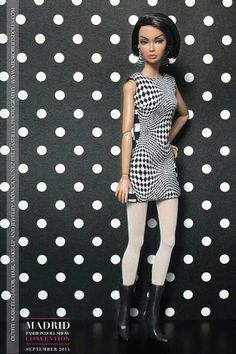 """Exclusive """"Chess Mess"""" designed by Marcello Jacob, modeled Girl from I.N.T.E.G.R.I.T.Y"""