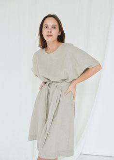 RUSH DRESS - Linenfox