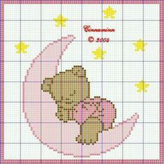 Embroidery - Page 8 Beaded Cross Stitch, Cross Stitch Embroidery, Pixel Crochet, C2c Crochet, Tapestry Crochet, Crochet Cross, Baby Blanket Crochet, Cross Stitch For Kids, Cross Stitch Baby