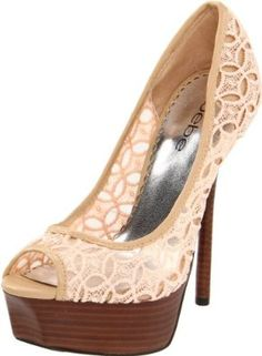 Bebe Shoes, Boots, Heels, Pumps and Sandals for Women Cute Shoes, Me Too Shoes, Awesome Shoes, Lace Pumps, Crazy Shoes, Open Toe, Fashion Shoes, Shoe Boots, My Style
