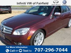 2008 *Mercedes-Benz *MBZ*  *C-Class* *C350*  101k miles $14,395 101304 miles 707-296-7044 Transmission: Automatic  #Mercedes-Benz #C-Class #used #cars #InfinitiVWofFairfield #Fairfield #CA #tapcars