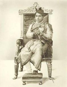 HH Maharaja Jivaji Rao Scindia of Gwalior By Rohit Sonkiya