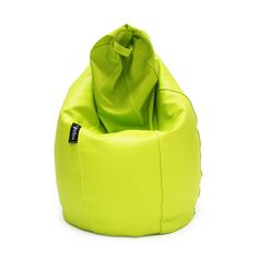 Puf Pera Super M Polipiel Verde
