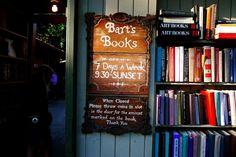 Bart's Books, 302 W. Matilija St., Ojai, California 93023,