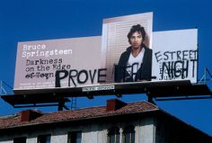 11 Amazing Rock #Billboards From the #SunsetStrip Pictures - Bruce Springsteen, 1978 | #RollingStone