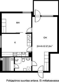 Kirsitie, Heikinlaakso, Helsinki, 2h+k+s 57 m², SATO vuokra-asunto
