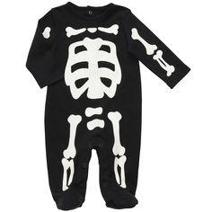 Carter's Glo-in-the_Dark Skeleton Onesie
