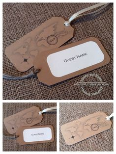 LUGGAGE TAG NAME SEATING PLACE CARDS BOARDING PASS WEDDING INVITATIONS POSTCARD
