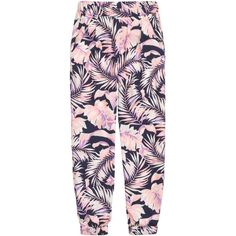 Patterned Pants $14.99 ($15) ❤ liked on Polyvore featuring pants, print pants, stretch waist pants, patterned pants, patterned trousers and elastic waistband pants