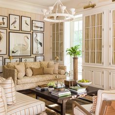 Mark Sikes | Main Living Room 2016 Southern Living Idea House | Mt Laurel community