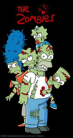 The Simpsons Zombified!
