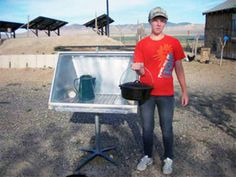 By Jeff Hoard, HM Ranch One of the easiest and most productive projects I've built here at HM Ranch is a simple solar oven.