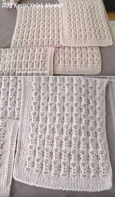 Dağ Keçisi Yelek Modeli #çeyizlikpatik #örgü #örgüyelek #şal #örgümodelleri #örgümüseviyorum #örgüçanta #knitting #knittingpatterns #knittinglove #knittinginstructions #knittingbasics #gelin #çeyiz #çeyizlik #oya #oyamodelleri #oyaörnekleri #oyamodeli Baby Knitting Patterns, Knitting Stiches, Knitting Videos, Filet Crochet, Holidays And Events, Diy And Crafts, Geek Stuff, Mens Fashion, Embroidery