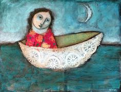"""in the spirit of being quite enough thank you very much....""""Vessel"""" by Sarah Wyman"""
