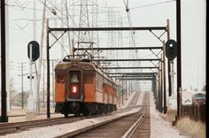 South Shore Line East Chicago, Indiana 1981