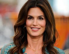 Cindy Crawford, one of America's most recognizable faces worldwide.