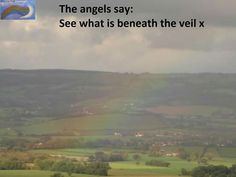 The angels say x