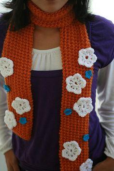 Simple Crocheted Flower ~ free pattern