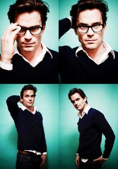 Matt Bomer...no knock on Henry Cavill (cause he's sexy too) but seriously, this IS Clark Kent!