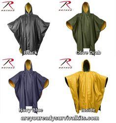 Rothco 3770 Navy Blue 2 Piece Microlite PVC Rainsuit