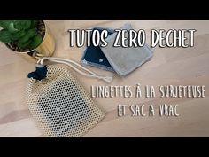 Des lingettes réutilisables à la surjeteuse, et en moins de 3 minutes ? Des sacs à vrac ? Pour se lancer dans le zéro déchet, c'est parfait!