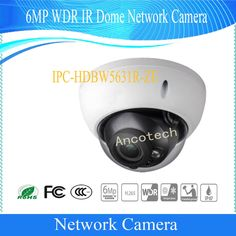 Free Shipping DAHUA Security IP Camera 6MP WDR IR Dome Network Camera with POE IP67 IK10 Without Logo IPC-HDBW5631R-ZE