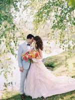 Virginia Hillside Wedding on Film