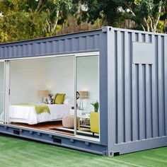 Container House - 20 Cool As Hell Shipping Container Homes - Outdoor Rooms. - Who Else Wants Simple Step-By-Step Plans To Design And Build A Container Home From Scratch? Container Home Designs, Sea Container Homes, Shipping Container Cabin, Container Shop, Storage Container Homes, Building A Container Home, Container Buildings, Container Architecture, Container House Plans