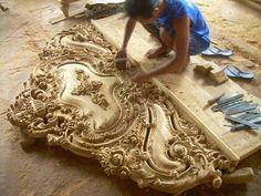 The most gorgeous headboard ever
