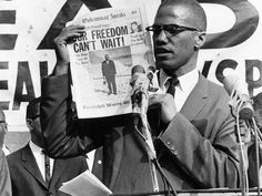 Quotes: 50 years after his death, Malcolm X speaks       Malcolm X, one of black America's most charismatic and controversial leaders, was assassinated 50 years ago today. He died in a hail of bullets on Feb. 21, 1965 in front of hundreds of people as he was beginning a speech at the Audubon Ballroom in New York City. His wife, Betty Shabazz, and four of his children were in attendance.