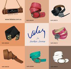 Velez Belts Leather Products, Fashion, Moda, Fashion Styles, Fashion Illustrations, Leather Accessories