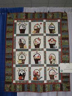Free pattern for basket blocks