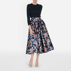 060cd10f67d Tansia Statement Printed Skirt