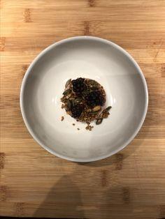 Chickenliver  | spelt granola | blueberries