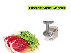 Meat Grinders - Electric Meat Grinder