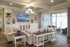 The heart of the home   Living Space or Family Room   The Anniston Model by CalAtlantic Homes in The Grove at Twenty Mile