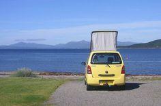 Happy Camper – Brenda and 'Suzie' Suzuki Wagon R, Happy Campers, Campervan, Car Parking