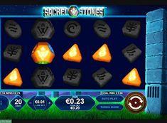 Игровой автомат Sacred Stones на реальные деньги  Компания Playtech посвятила игровой онлайн аппарат Sacred Stones такому известному историческому памятнику, как Стоунхендж. В нём вы будете играть на 5 барабанах и 20 линиях. Получать реальные деньги в этом автомате поможет большое количество фриспинов. Slot Machine, Arcade Machine