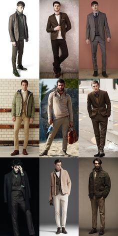 Men's Earth Tone Outfits Lookbook Inspiration