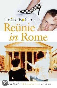 """4/52 Iris Boter- Reunie In Rome ● Donna van Dalen groeit op in de Italiaanse hoofdstad Rome, maar als haar ouders besluiten terug te gaan naar Nederland moet ze mee. Sinds die tijd droomt Donna ervan om terug te gaan naar het land waar ze zich werkelijk thuisvoelt; het land van de espresso""""s, makeup en dure kleren. Tot die tijd werkt ze bij een televisiezender, doodt ze haar tijd met haar knuffelbeercollega Bart en woont ze in een flatje in AmsterdamNoord. Als er op een dag een uitnodiging…"""