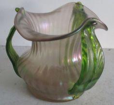 antique-art-nouveau-glass-vase-Loetz-Palme-Konig-with-handles