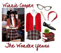 """The Wonder Years: Winnie Cooper"" by dandelionapril ❤ liked on Polyvore featuring DuÅ¡an, MANGO, Brooks Brothers, Buccellati and Marc Jacobs"