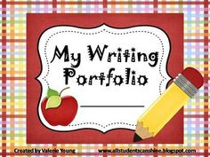 This writing portfolio is a great way for your students to record their improvement throughout the year.   $