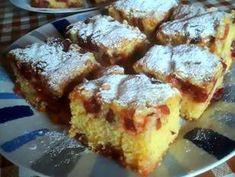 Cseresznyés sütemény olajos kevert tésztával   Wagensommer Alexandra receptje - Cookpad receptek French Toast, Breakfast, Food, Morning Coffee, Essen, Meals, Yemek, Eten